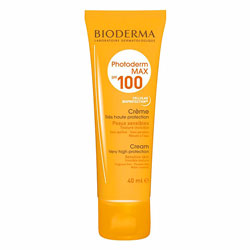 کرم ضد آفتاب فاقد رنگ SPF 100 بایودرما مدل Photoderm MAX حجم 40 میل