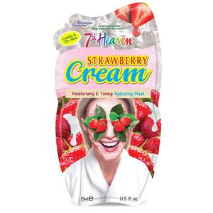 ماسک صورت کرمی سون هون حاوی عصاره توت فرنگی و خامه حجم 15 میل